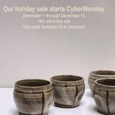 holiday sale at www.clothandgoods.com