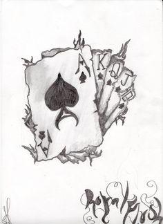 Royal Flush by TattooBiker666 on DeviantArt