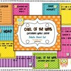 Create a class community with this O.W.L. {Outstanding Weekly Learner} Bulletin Board Set!