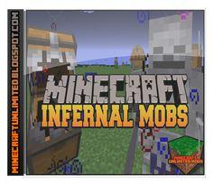 Minecraft Unlimited Mods: Descargar Infernal Mobs AtomicStryker's Mod para M...