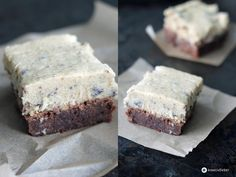 Cookie Dough Brownies - Brownies plus Keksteig