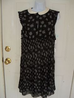 Kate Young For Target® Peter Pan Collar Dress Size Small Women's NEW #kateyoung #Cocktail