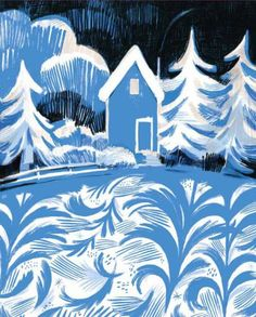 """""""Once Upon a Northern Night"""", by Jean E. Pendziwol, illustrated by Isabelle Arsenault, 2013"""