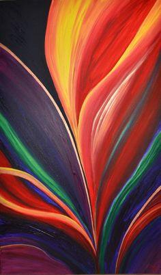 """Hollandia"" by Stephanie Jack - 36in x 60in - acrylic on canvas - 2013 - $595"