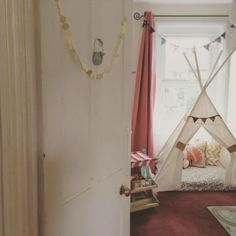 Bespoke teepees by Betty's Buttons of Ventnor (Facebook). Www.bettys-buttons.co.uk