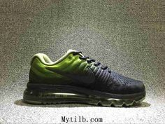 on sale a3b87 b2d03 Nike Air Max 2017 Mesh Gradient Green Black Men Running Shoes