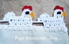 Vintage Crochet Chicken Patterns Ideas