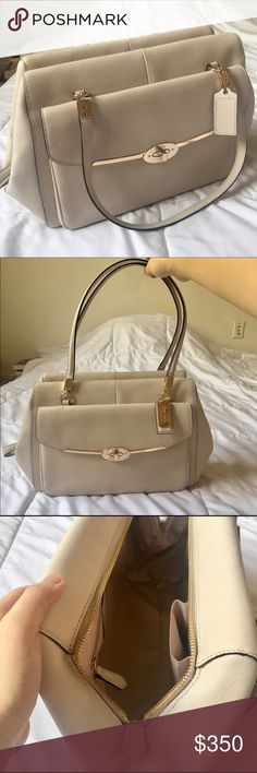 Coach Madison Madeline Satchel Got it as a gift but never used. No signs of wear. Comes with original factory bag, dust bag and care card. NWOT Coach Bags Satchels
