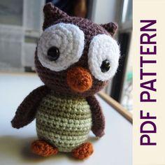 Amigurumi woodland owl! https://www.etsy.com/listing/162676187/amigurumi-crochet-woodland-owl-forest