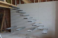 » Building a floating staircase Work Renovation