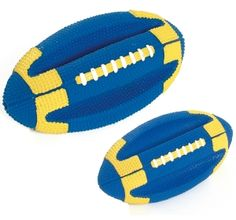 Dog Toy Rugby Ball Karlie only for Rs. 250 for more visit http://www.dogspot.in/
