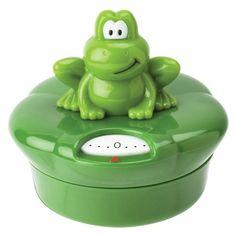 Joie Ribbit Frog Mechanical Kitchen Timer Green for sale online Pomodoro Technique Timer, Frog House, Egg Timer, Frog Life, Addition And Subtraction Worksheets, Kitchen Timers, Frog And Toad, Frog Frog, Gift Finder