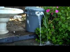 Home Made Pond Filter - YouTube