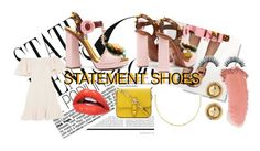 """""""Statement Heels"""" by avac2003 ❤ liked on Polyvore featuring Valentino, Dolce&Gabbana, Lana, House of Harlow 1960, Gucci and statementshoes"""