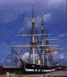 Fregatten Jylland in Ebeltoft.... Dreaming of Jack Sparrow