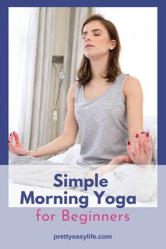 Be gentle with yourself starting your day with some easy and relaxing Yoga Poses just to give your body a chance to start to feel mobile and alive. Even 15 min will do it. Morning Yoga Flow, Morning Yoga Routine, Yoga Routines, Yoga Moves, Yoga Exercises, Stretches, Happy Baby Pose, True Yoga, Yoga Routine For Beginners