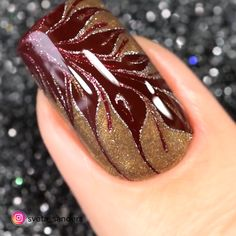 Nail art Christmas - the festive spirit on the nails. Over 70 creative ideas and tutorials - My Nails Nail Art Videos, Nail Art Designs Videos, Nail Design Video, Fall Nail Designs, Cute Nail Designs, Nail Art For Girls, Uñas Diy, Marble Nail Art, Perfect Nails