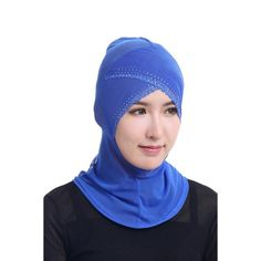 Fashion Women Scarf Hijabs Islamic Neck Cover Bonnet Full Cover Inner Hijab Cap Lady Muslim Headwear