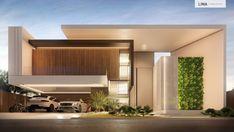 Modern home design Modern House Facades, Modern Architecture House, Architecture Design, Chinese Architecture, Futuristic Architecture, Modern Small House Design, Modern Villa Design, Contemporary Design, Luxury Homes Dream Houses