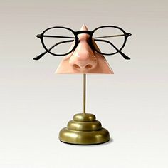 Desktop Eyeglass Holder with Brass Base * Want additional info? Click on the image. (Amazon affiliate link)
