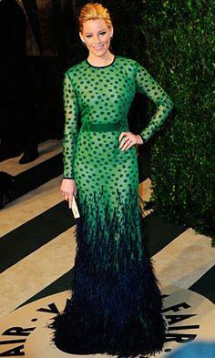 Elizabeth Banks in Chadwick Bell - Vanity Fair Oscars Party