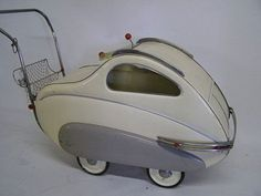 Industrial designers baby carriage in the 1930s.