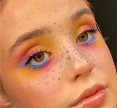 Indie Makeup, Edgy Makeup, Makeup Eye Looks, Eye Makeup Art, Fairy Makeup, Pretty Makeup, Skin Makeup, Beauty Makeup, Mermaid Makeup