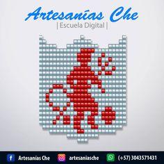 Descarga gratis 6 esquemas de escudos del Fútbol Colombiano – Artesanías Che Mochila Crochet, Hama Beads, Coding, Tapestry, Tapas, Minecraft, Patterns, Mariana, Loom Bracelets