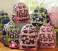 Can't decide on the Girls' Mackenzie Large Backpacks or the small for Gemma  potterybarnkids.com