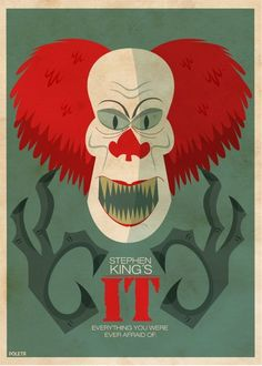 OMG i want this on my wall hahahaha  TERROR FILMS by Poleta Art, via Behance