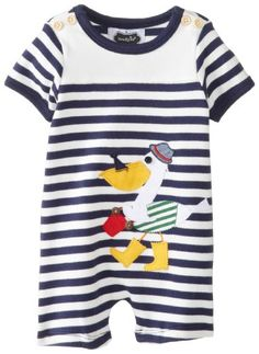 Mud Pie BabyBoys Newborn Pelican One Piece BlueWhite 06 Months *** Continue to the product at the image link. (This is an affiliate link) #BabyBoyBodysuits