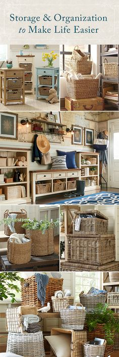 Birch Lane: Farmhouse & Traditional Furniture - Made to Last Passion Deco, Home Decoracion, Ideas Para Organizar, Organizing Your Home, Organizing Tips, Organising, Traditional Furniture, My New Room, Organizer