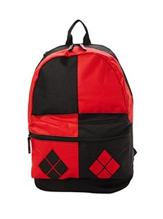DC Comics Harley Quinn Backpack - With fold-out hood