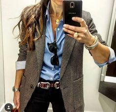 Office Outfits Women, Mode Outfits, Chic Outfits, Fashion Outfits, Fashion Trends, Fashion Connection, Look Blazer, Fashion Capsule, Italy Fashion