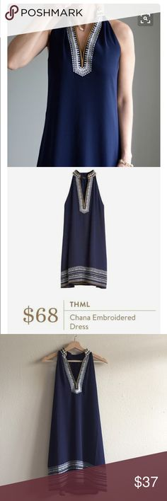STITCH FIX THML Chana embroidered dress EUC/ worn once. Such a gorgeous dress that I know tons of us were requesting from our stylists. If you missed out, now is your chance! First two photos from Pinterest, third photo actual dress.  Hi babes! I love giving huge discounts on bundles, so be sure to ask.  🚫no trades right now! 🚫no lowball offers! I want to get you an amazing deal, so let's work together  ✅ make me an offer!  ✅top rated seller thml Dresses