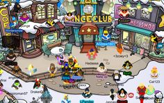 Wow, The towns busy today! ;-; Today is May 28 of 2014 ;P