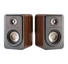 Polk Audio Signature Series S15 American Hi Fi Home Theater Small Bookshelf Speakers