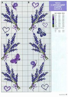 This Pin was discovered by Cross Stitch Bookmarks, Cross Stitch Cards, Cross Stitch Borders, Cross Stitch Flowers, Cross Stitch Designs, Cross Stitching, Cross Stitch Embroidery, Embroidery Patterns, Hand Embroidery