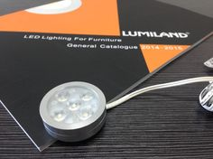 LED Cabinet Light.  Material:Aluminium,                                                                                                                               Finish:Silver Grey, Size:42xH12.6mm