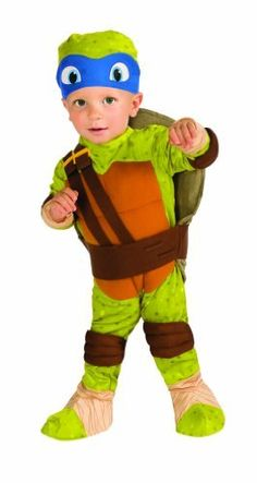 Rubieu0027s Costume Teenage Mutant Ninja Turtles Leonardo Romper Shell and Headpiece  sc 1 st  Pinterest & 977 best Halloween Costumes images on Pinterest | Halloween costumes ...