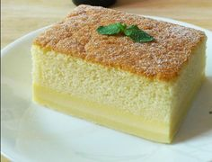 Make the fluffiest pandan cake, plus the creamiest kaya custard. Assemble the most beautiful pandan kaya cake. Popular Recipes, My Recipes, Sweet Recipes, Cake Recipes, Cooking Recipes, Simply Recipes, Food Cakes, Cupcake Cakes, Magic Custard Cake