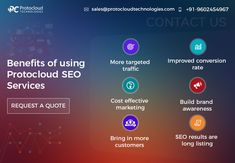 Benefits of using Protocloud SEO services- 👉 More target traffic 👉 Improved conversion 👉 Cost effective marketing 👉 Build brand awareness 👉 Bring in more traffic 👉 SEO results are long listing Seo Marketing, Digital Marketing, Small Business Organization, Seo Professional, Bounce Rate, Best Seo Company, Website Ranking, Seo Strategy
