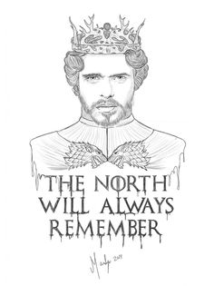 King of the north Robb Stark by LaMarlyn