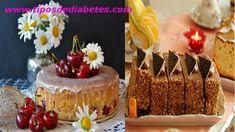 Recetas – Tips Diabetes Diabetes, Cheesecake, Desserts, Food, Vestidos, Diabetic Cake, Food Cakes, Healthy Food, Eten