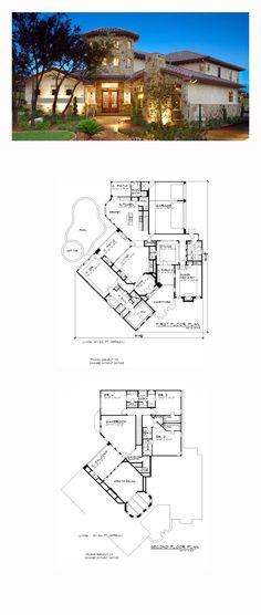Italian House Plan 74514