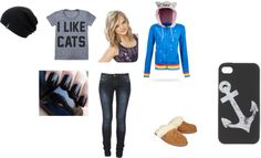 """""""lazy day"""" by annawarbritton on Polyvore"""