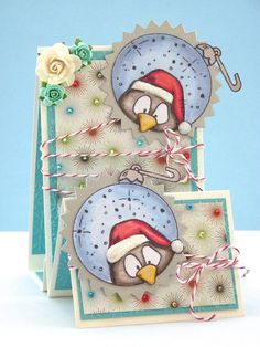 Card made using digi stamp from The Stamping Boutique.