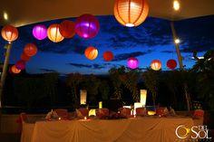 Denise + Christofer Wedding Dinner Set Up Dreams Puerto Aventuras