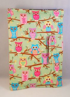 Cute Owl Kindle Fire Case Kindle Fire HD Cases by foreverandrea,