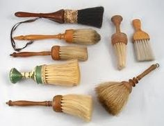 Vintage neck brushes & shaving brushes